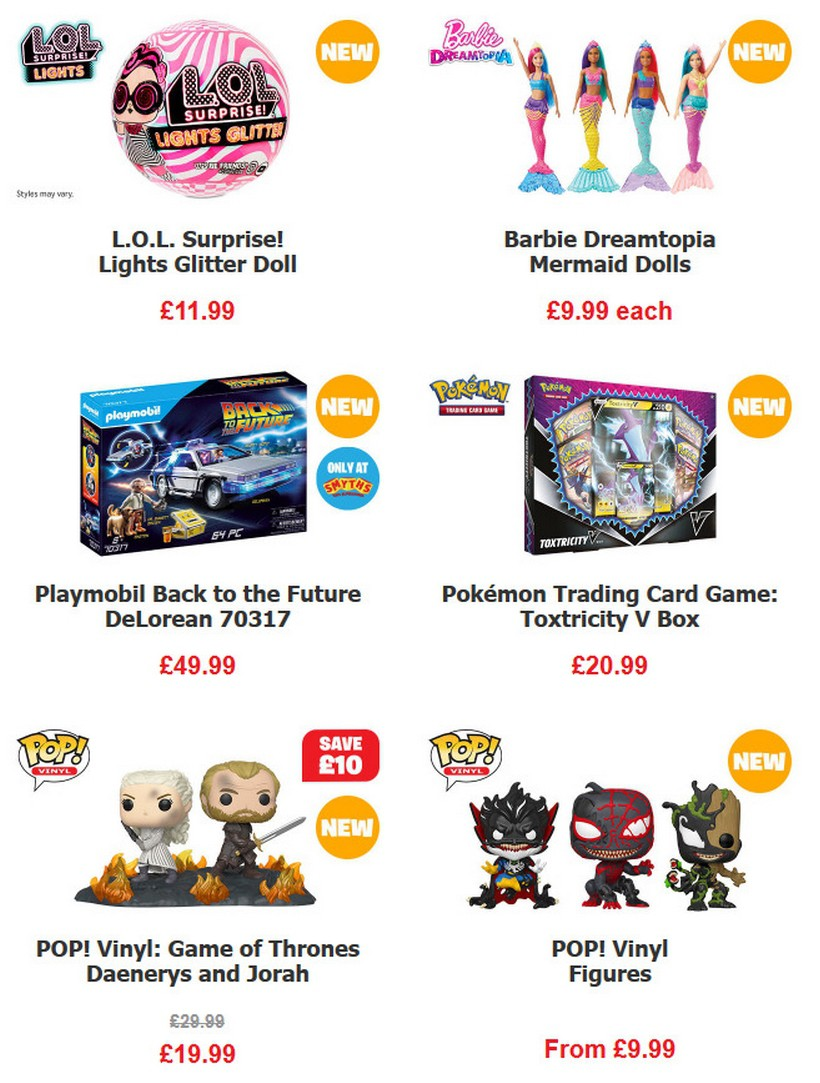 Smyths Toys Offers from March 14