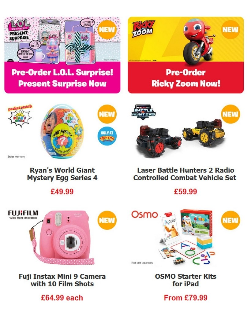 Smyths Toys Offers from June 20