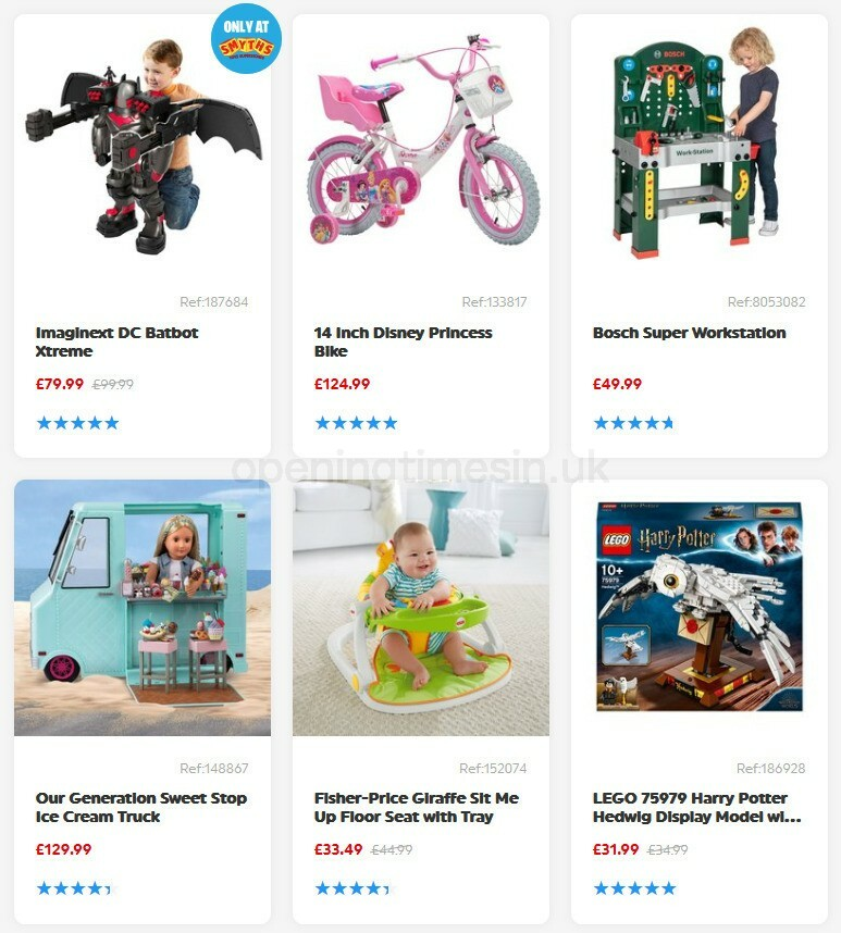 Smyths Toys Offers from September 5