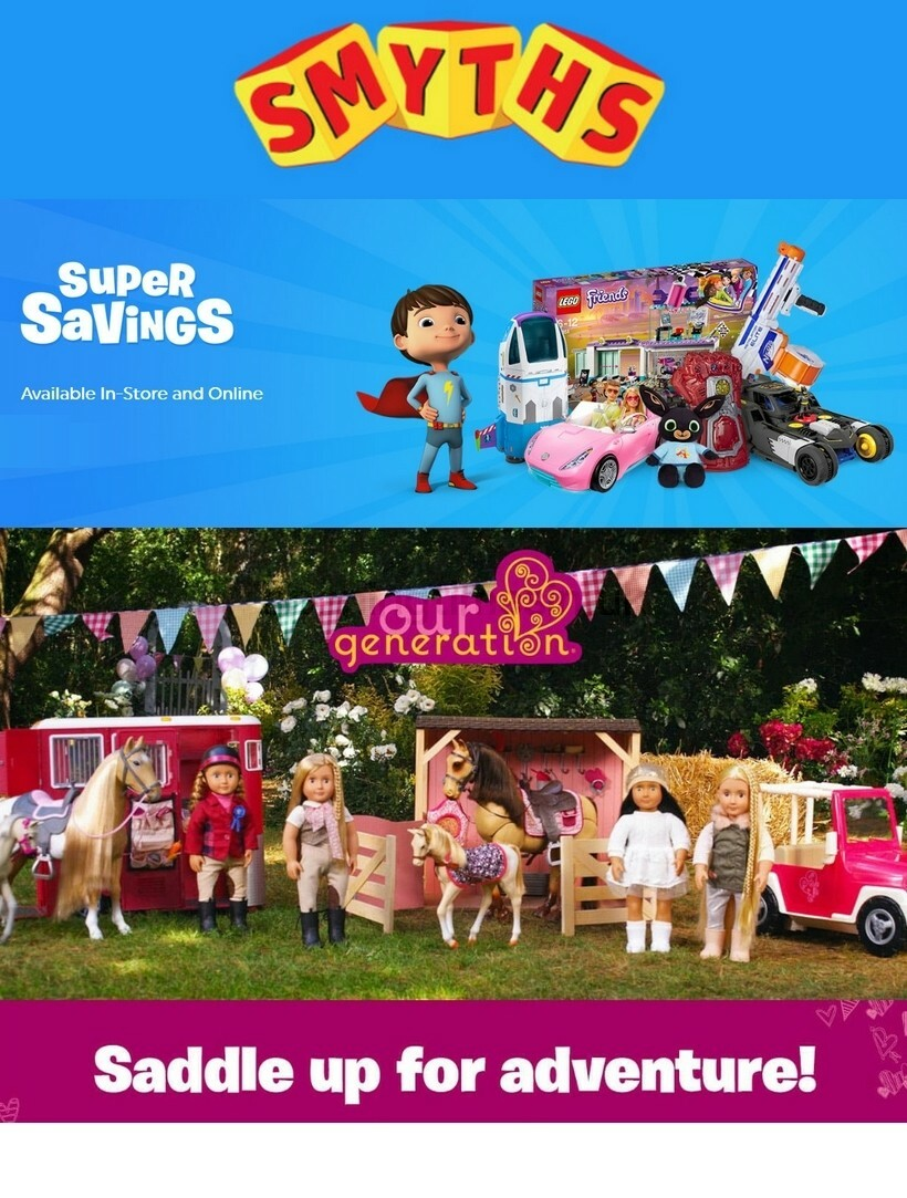 Smyths Toys Offers from October 17