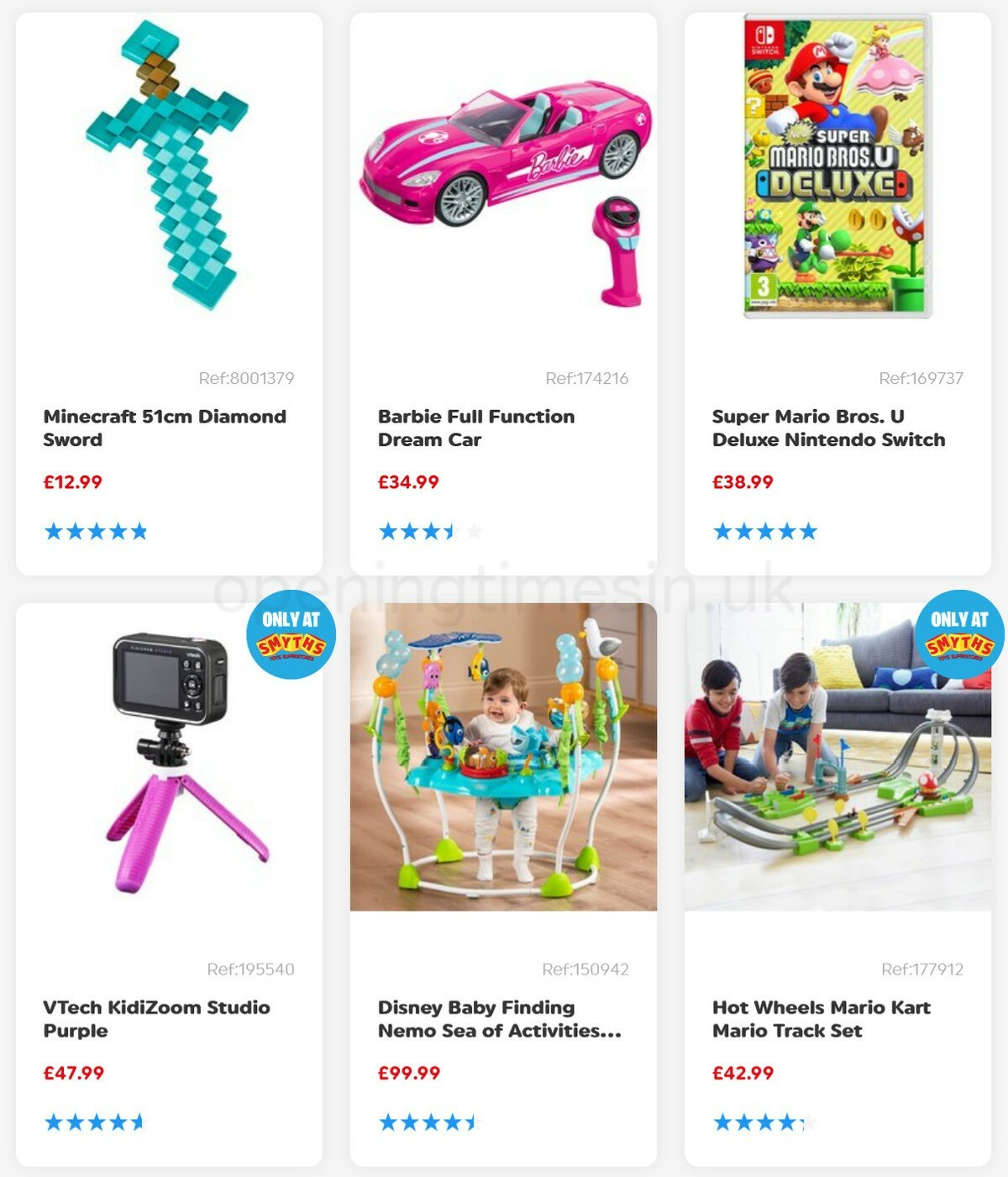 Smyths Toys Offers from April 3
