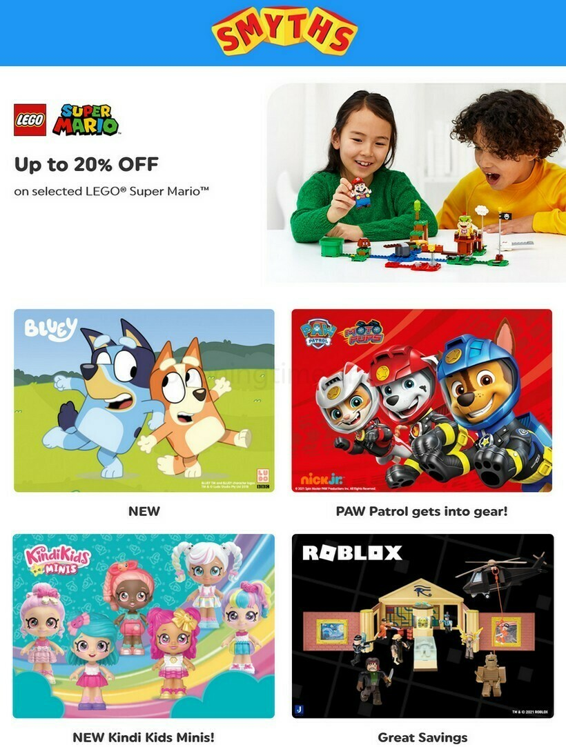 Smyths Toys Offers from April 17