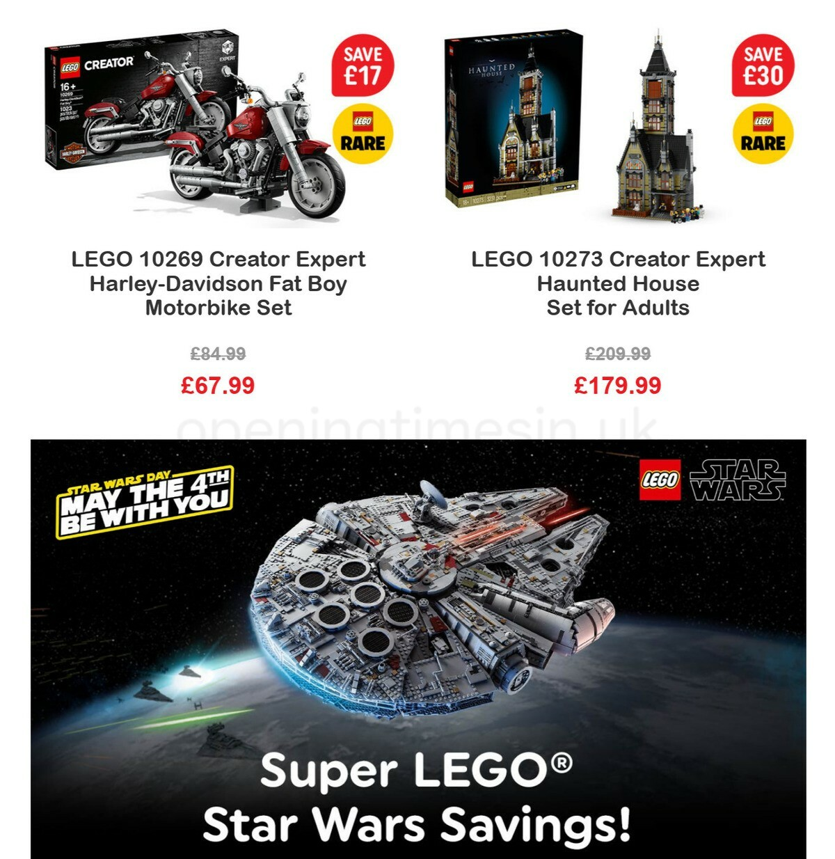 Smyths Toys Offers from May 1