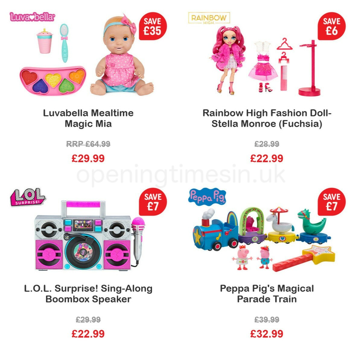 Smyths Toys Offers from May 28