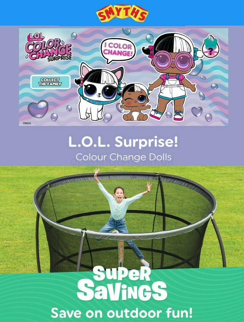 Smyths Toys Offers from June 11
