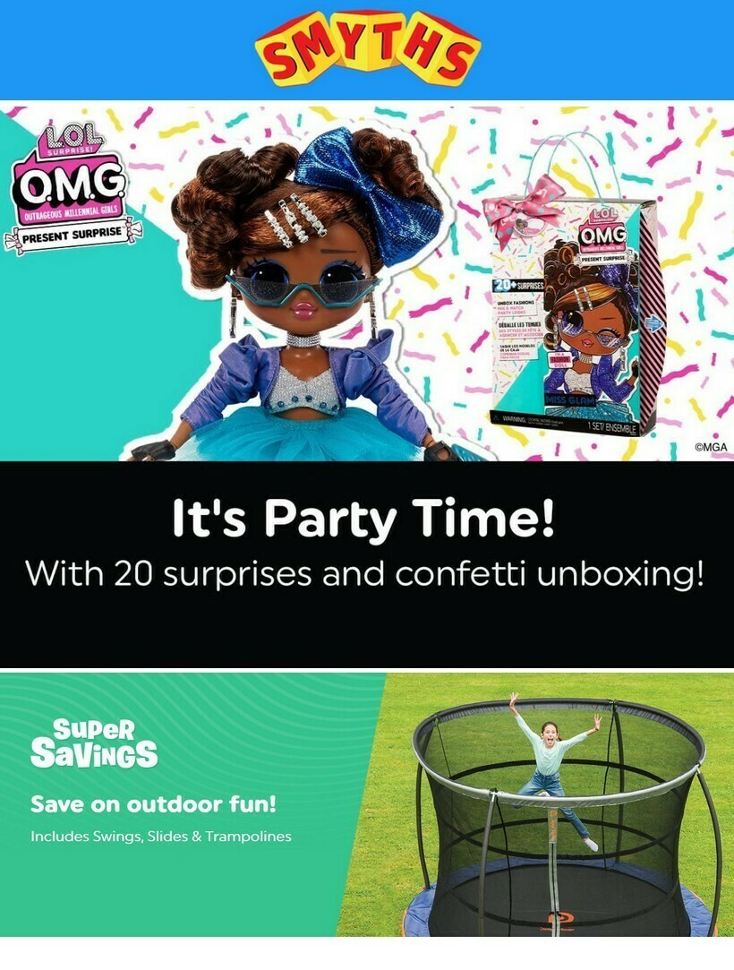 Smyths Toys Offers from July 9