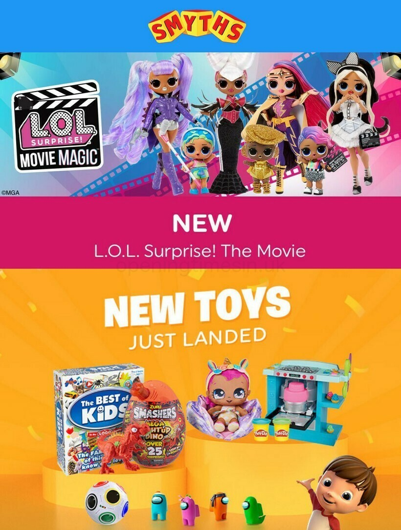 Smyths Toys Offers from August 28