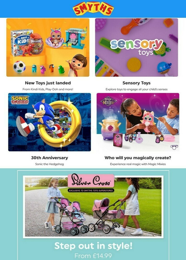 Smyths Toys Offers from September 17