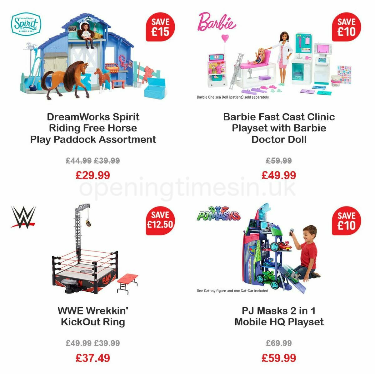 Smyths Toys Offers from October 1