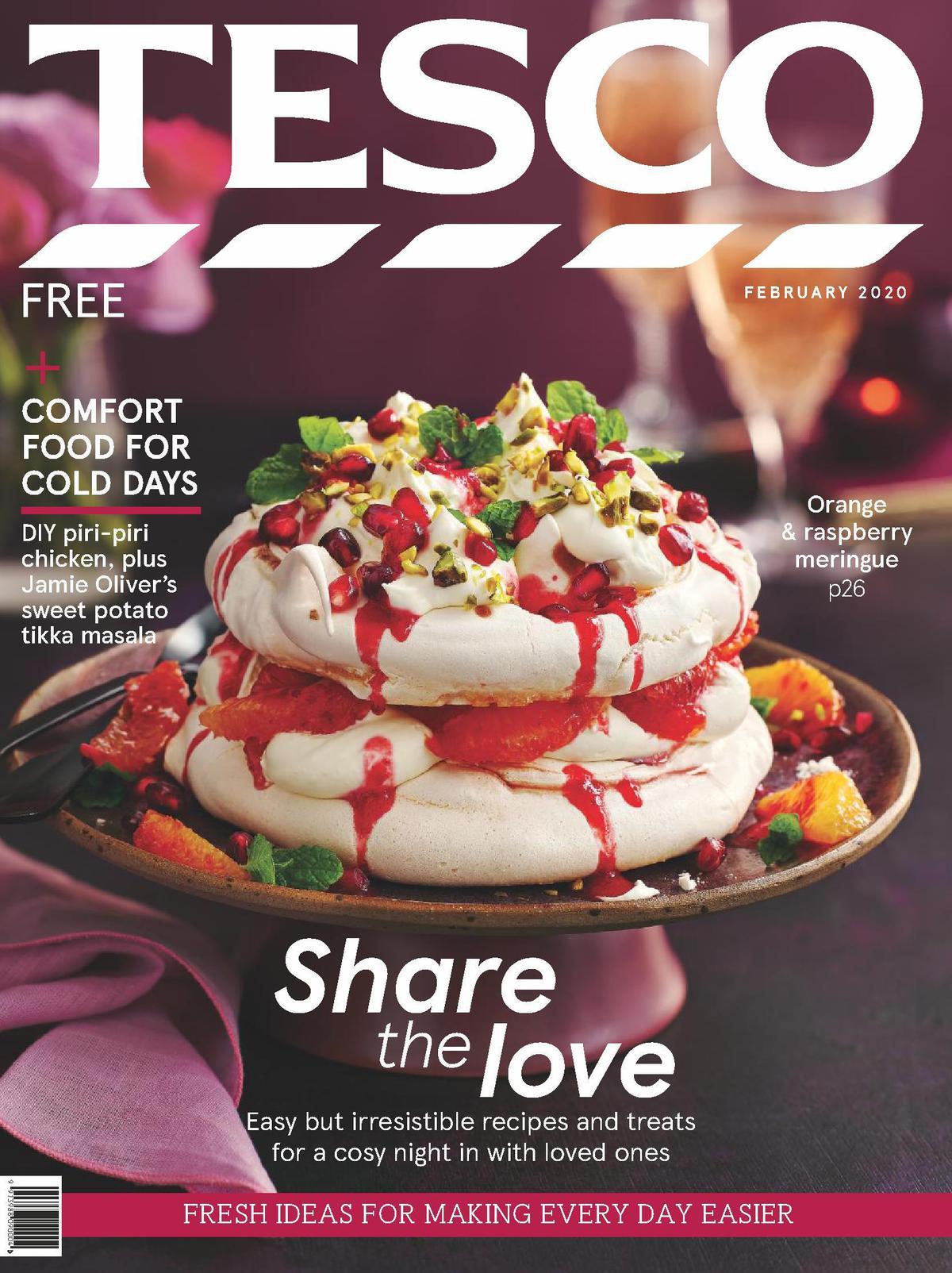 TESCO February Magazine Offers from February 5