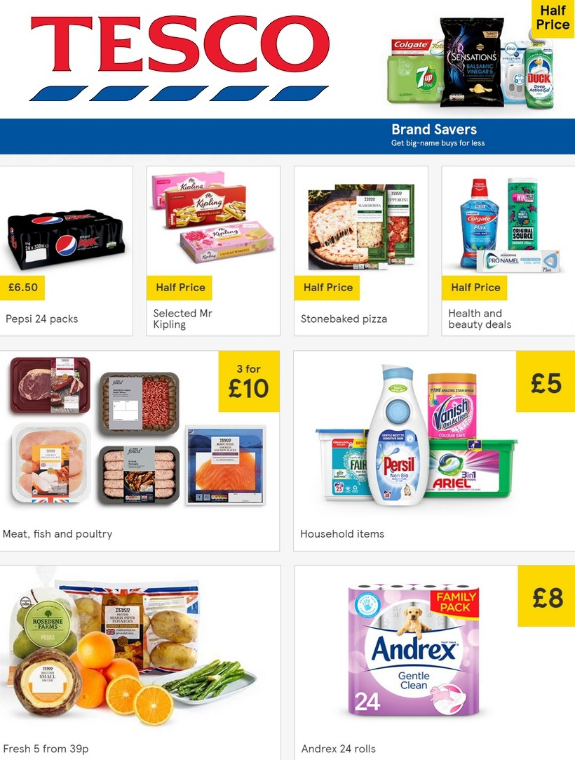 TESCO Offers from February 19