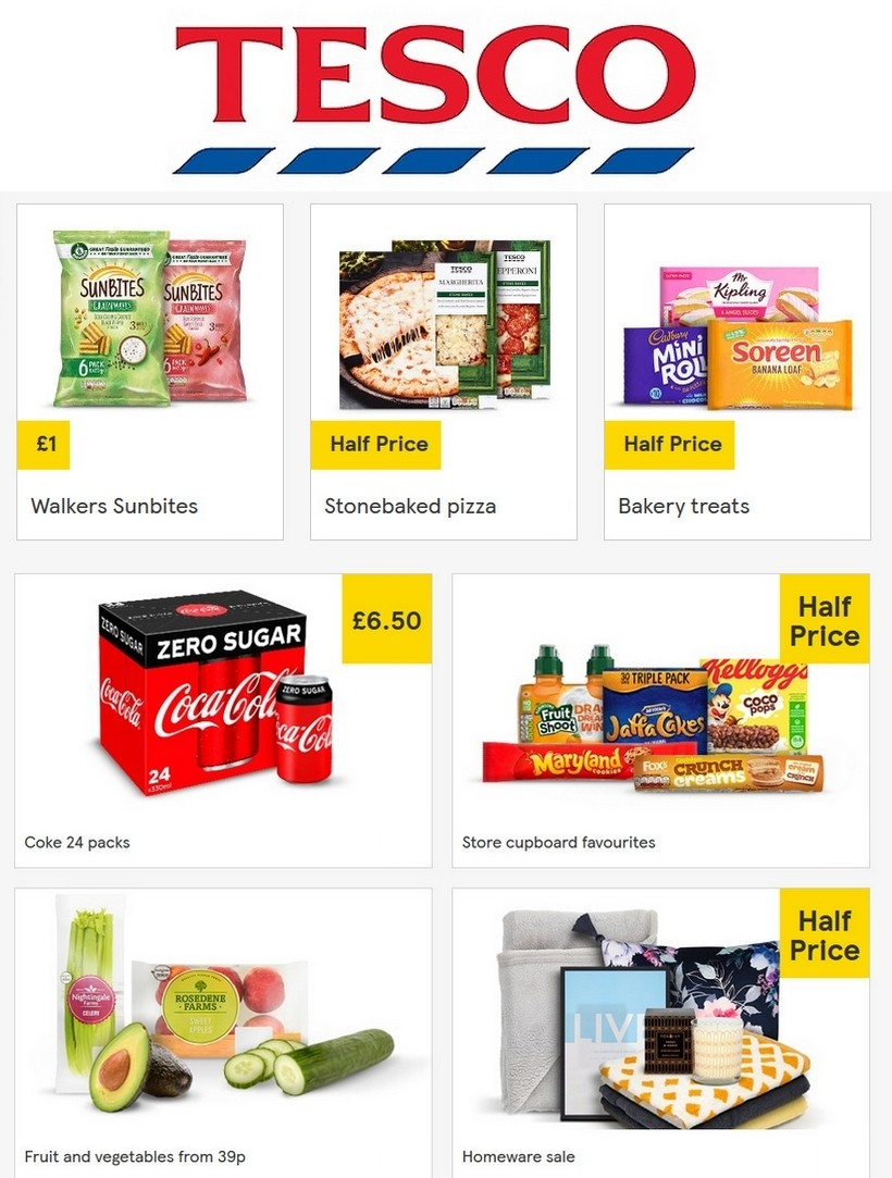 TESCO Offers from May 20