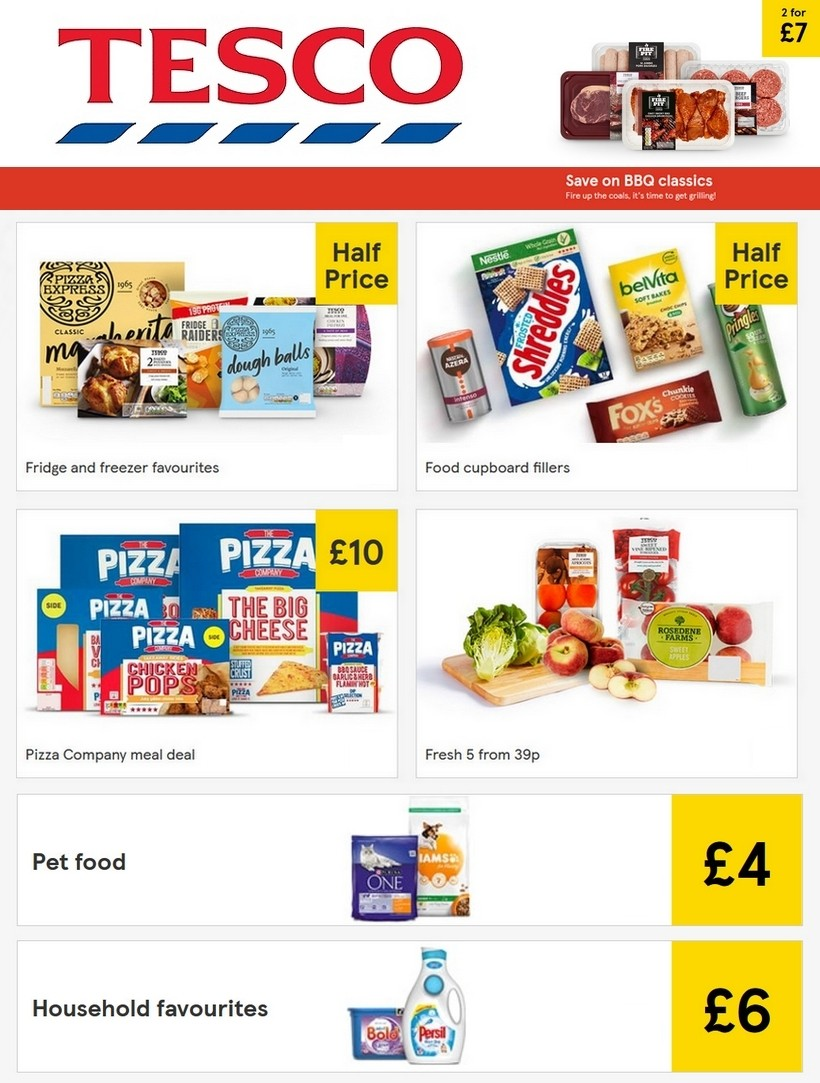 TESCO Offers from May 27
