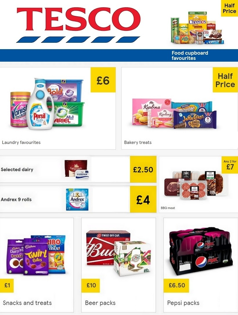 TESCO Offers from June 3