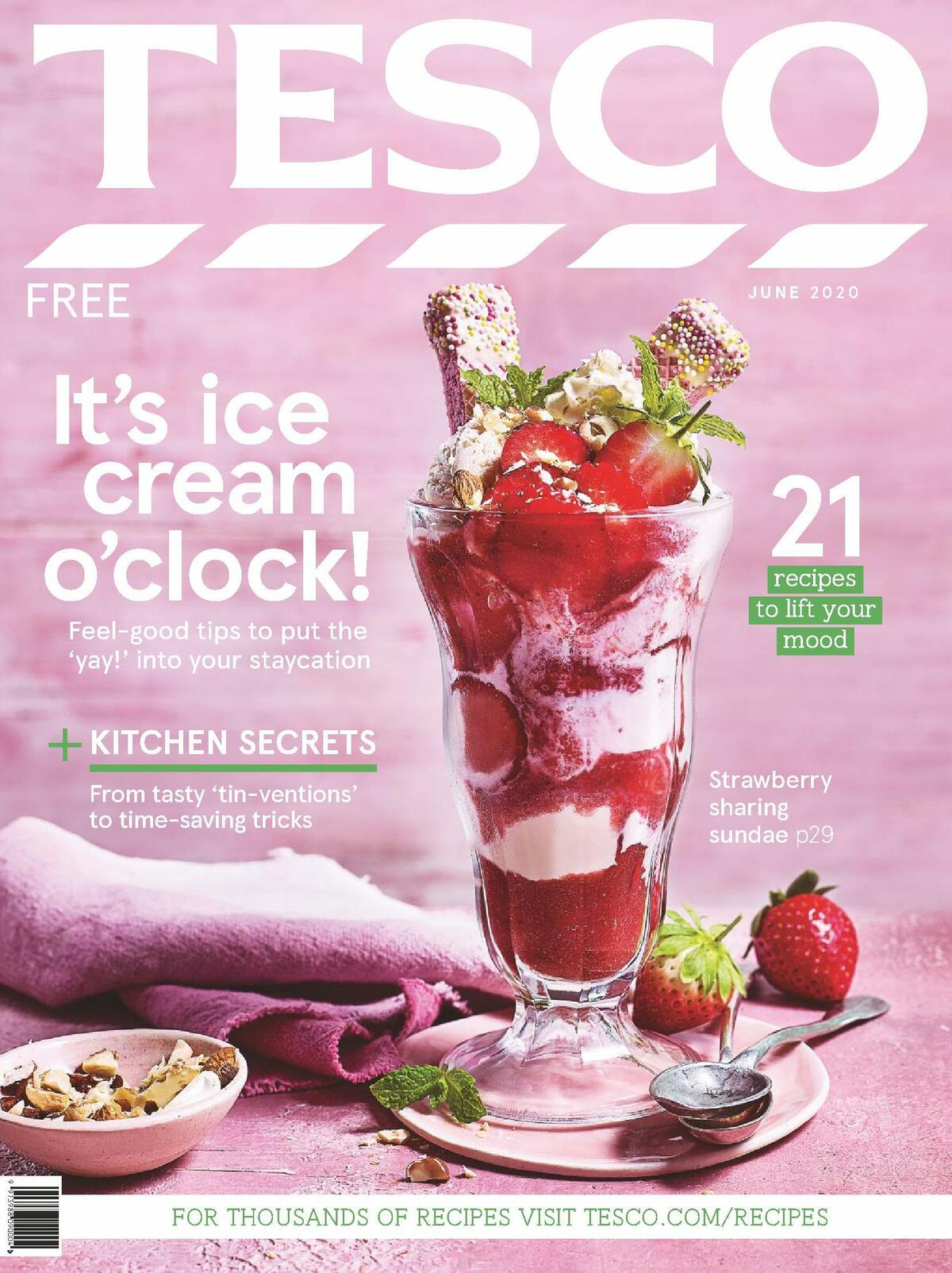 TESCO Magazine June Offers from June 10