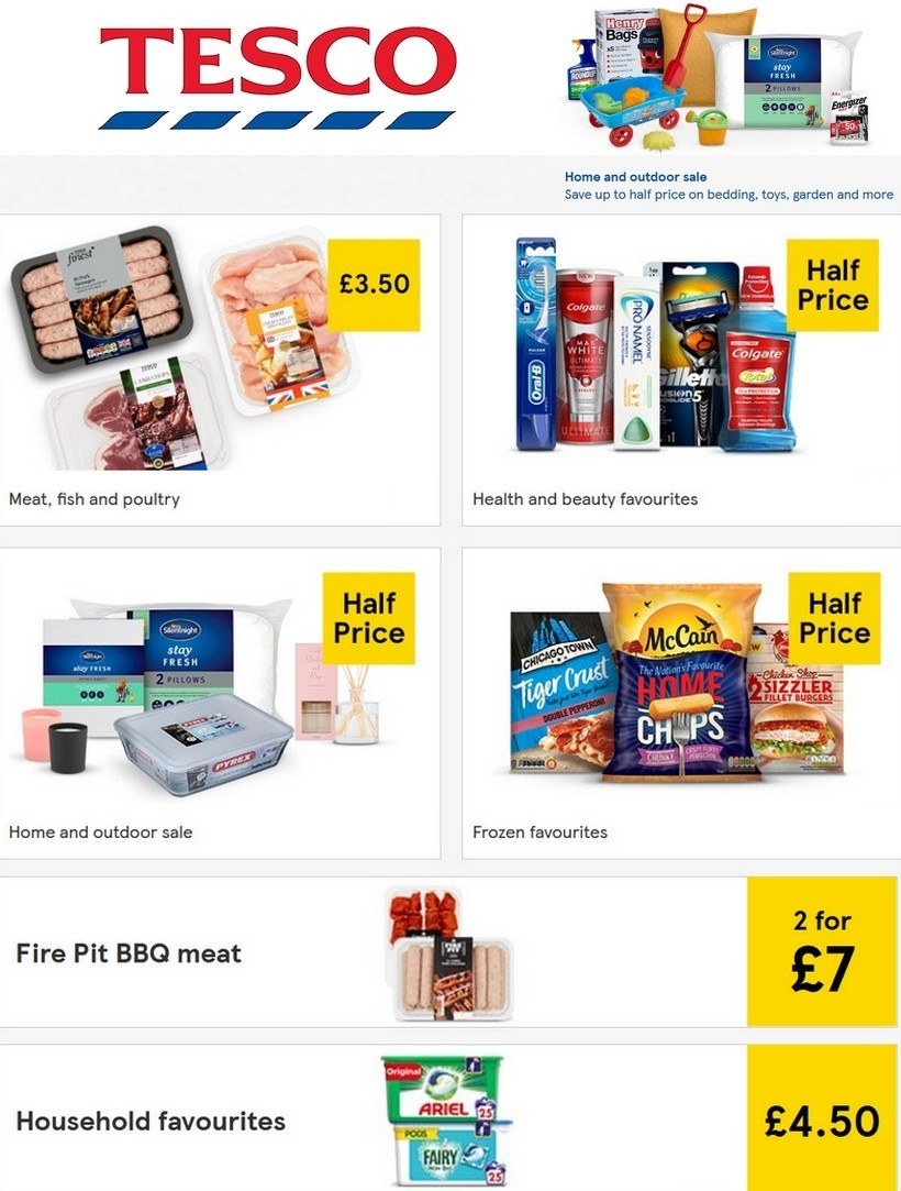 TESCO Offers from July 1