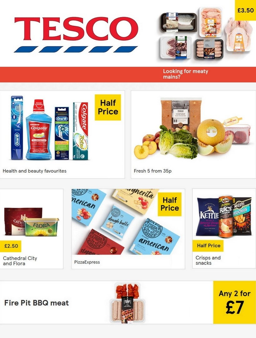 TESCO Offers from July 8