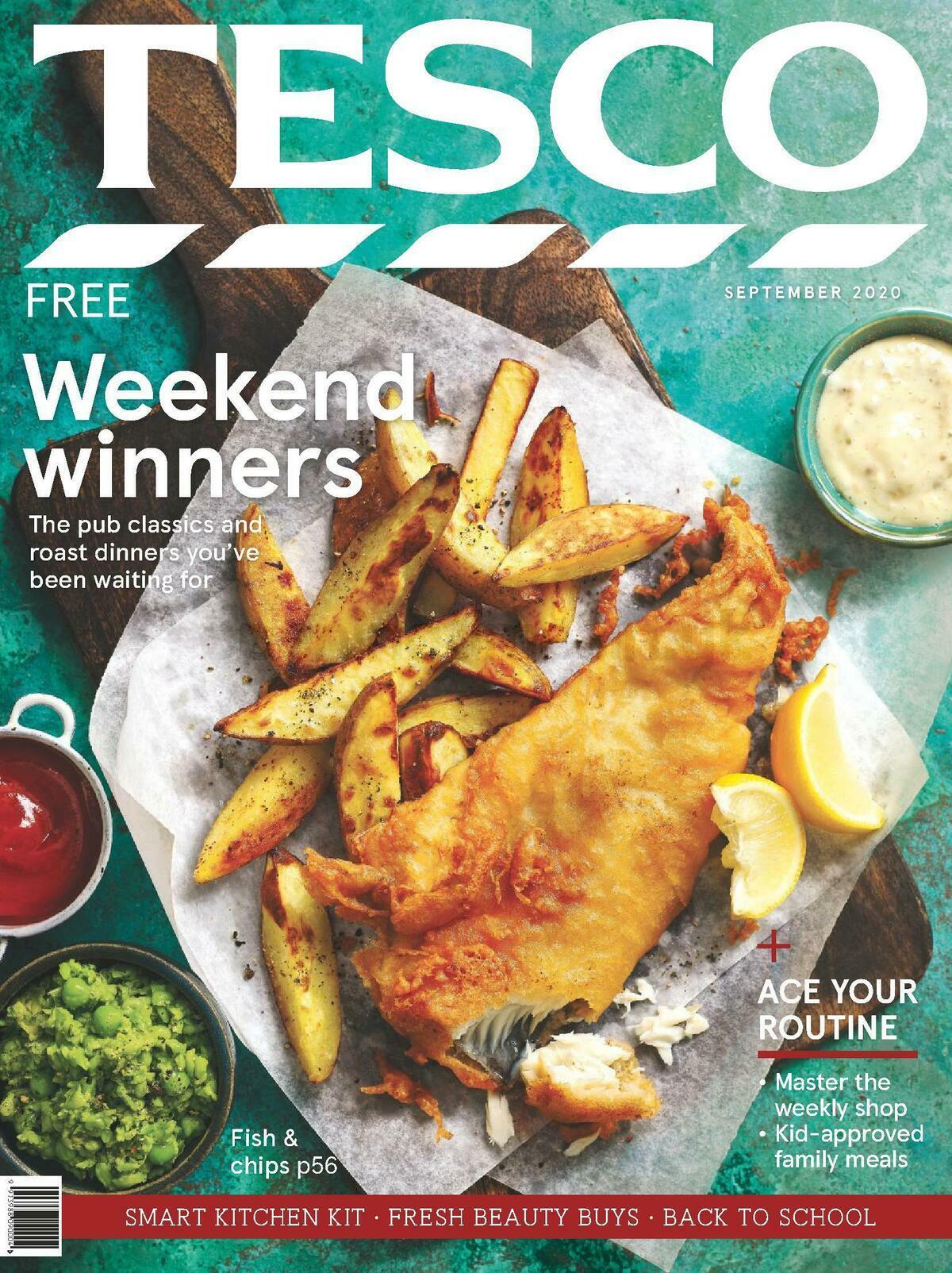 TESCO Magazine September Offers from September 1