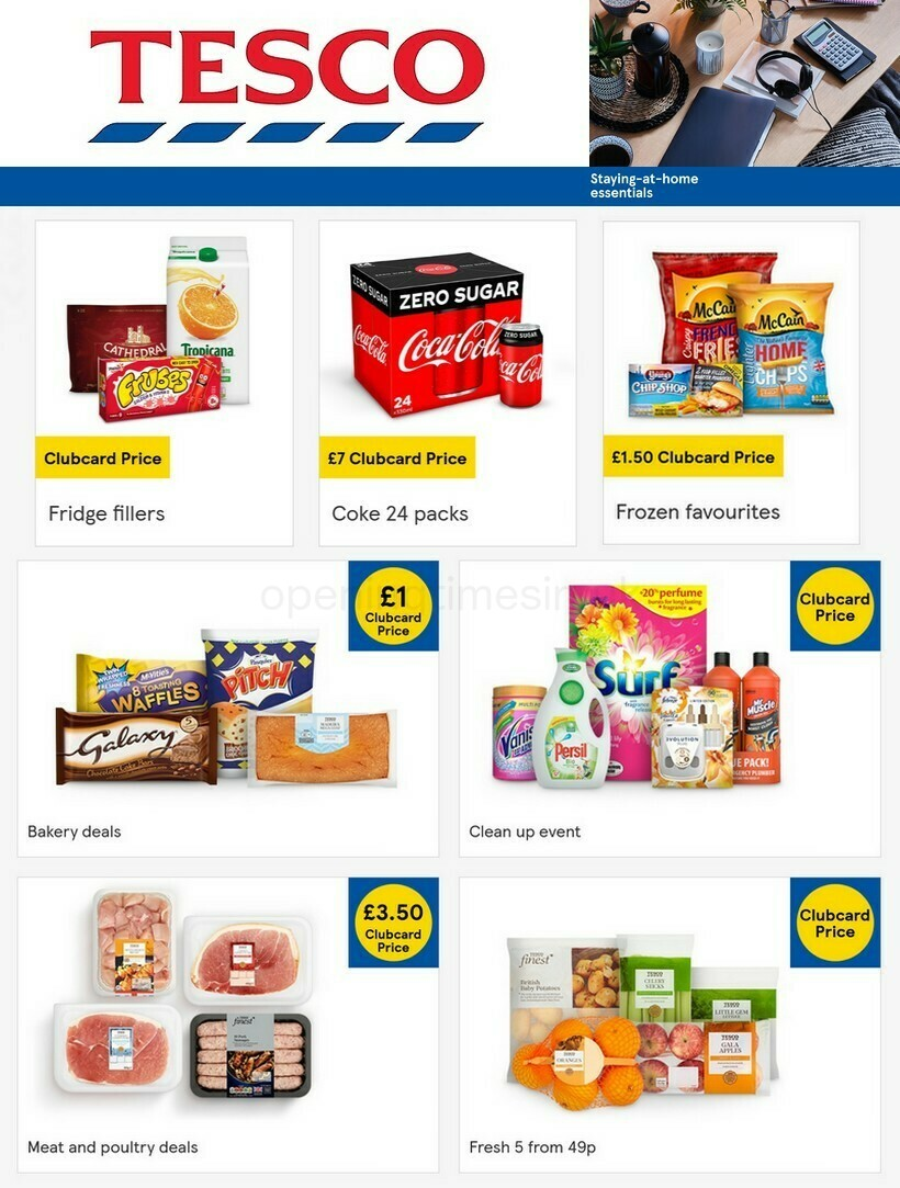 TESCO Offers from January 20