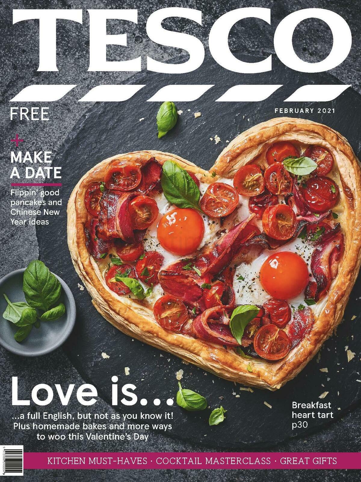 TESCO Magazine February Offers from February 1