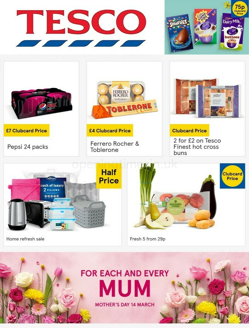 TESCO Offers from March 3