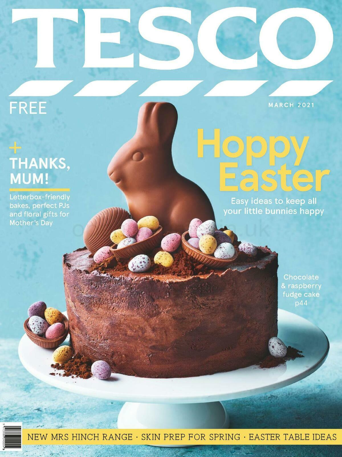 TESCO Magazine March Offers from March 1