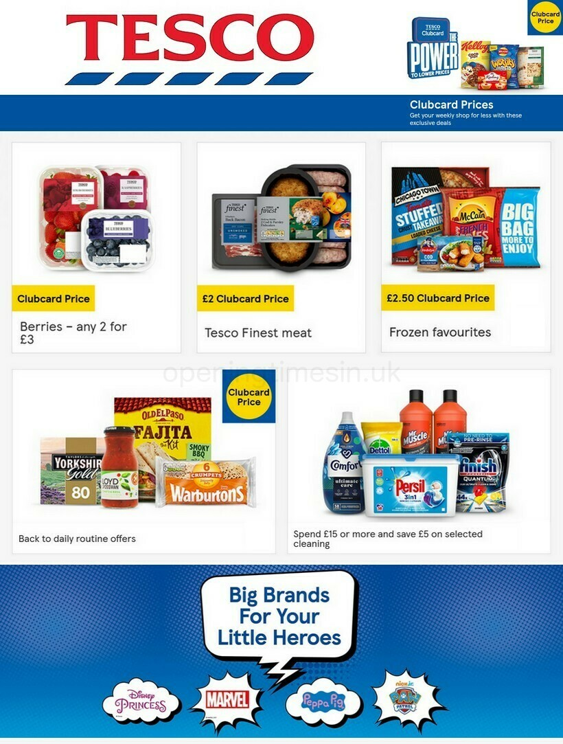 TESCO Offers from April 14