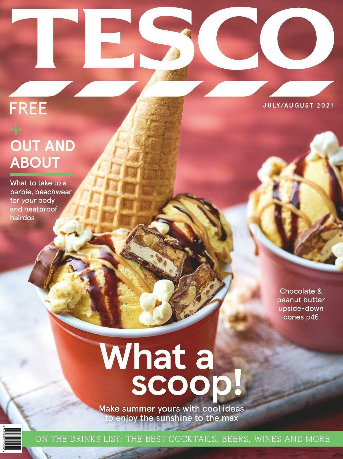 TESCO Magazine July/August Offers from July 1