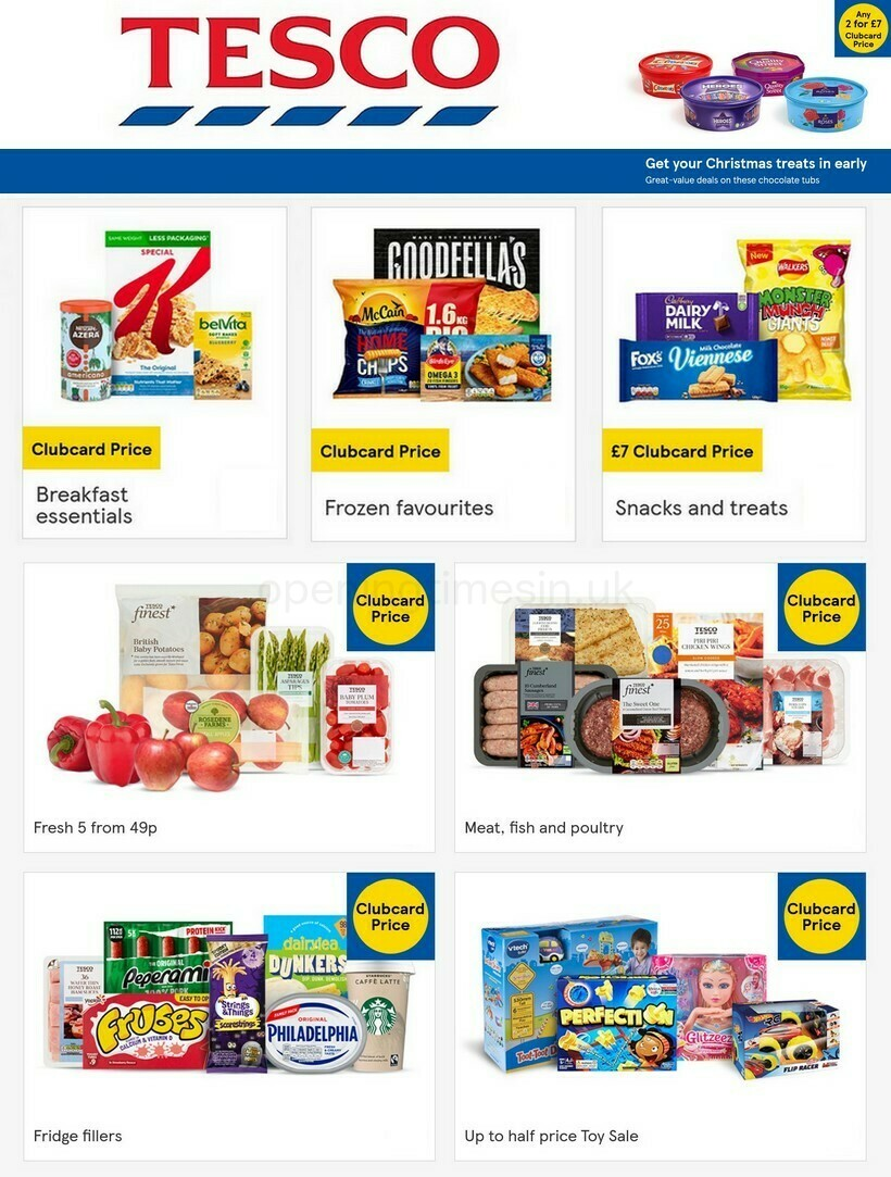 TESCO Offers from October 13