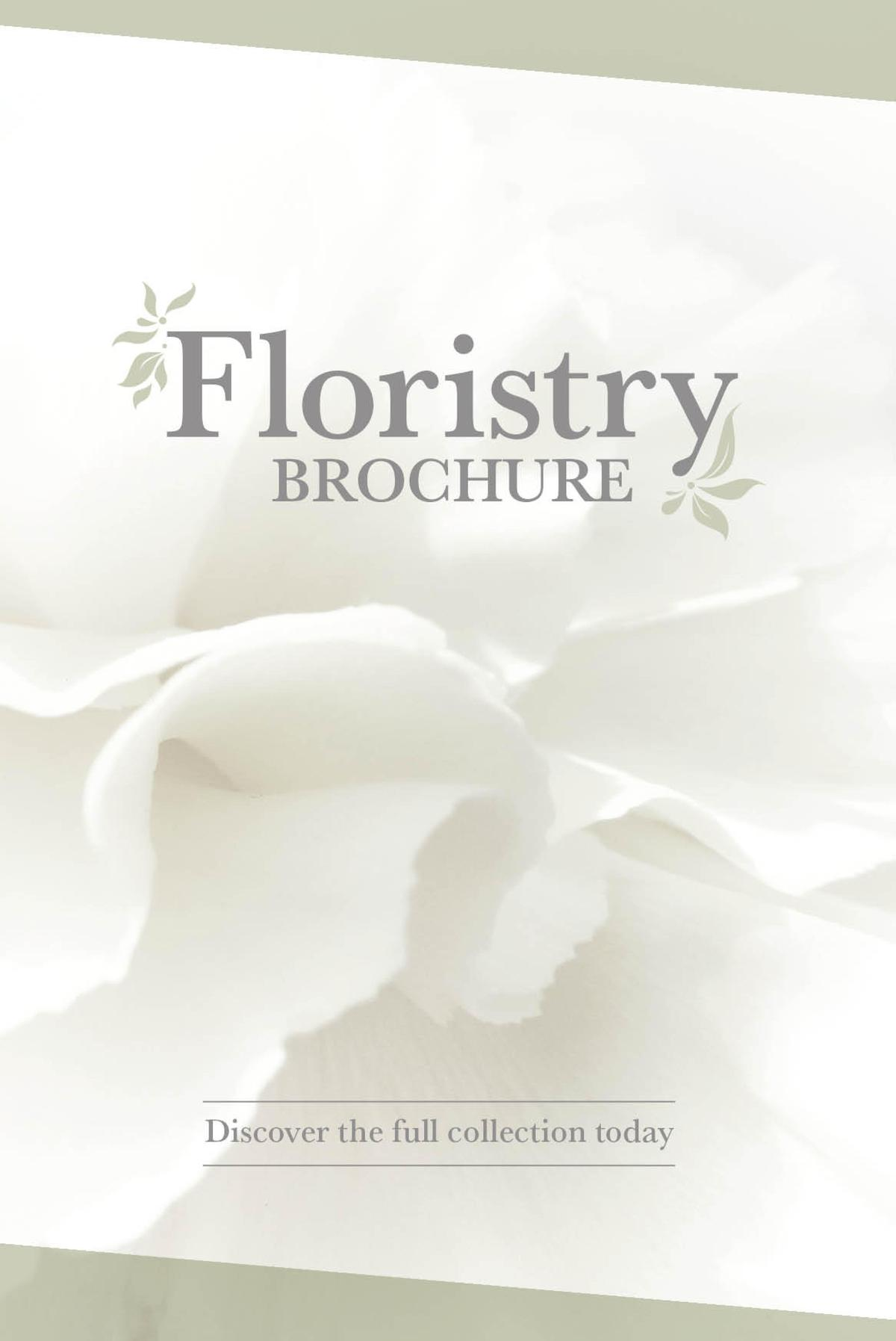 The Range Floristry Brochure Offers from January 20