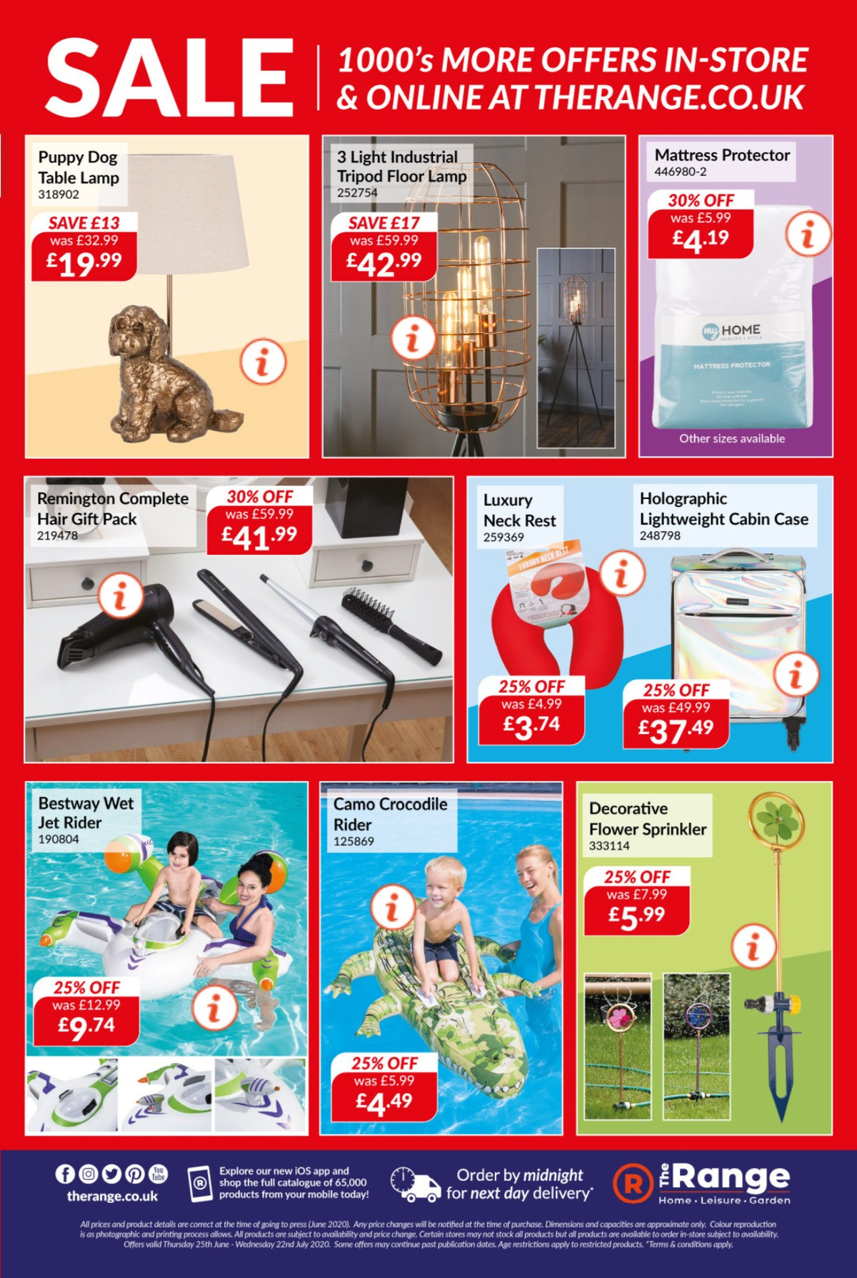 The Range Offers from June 25