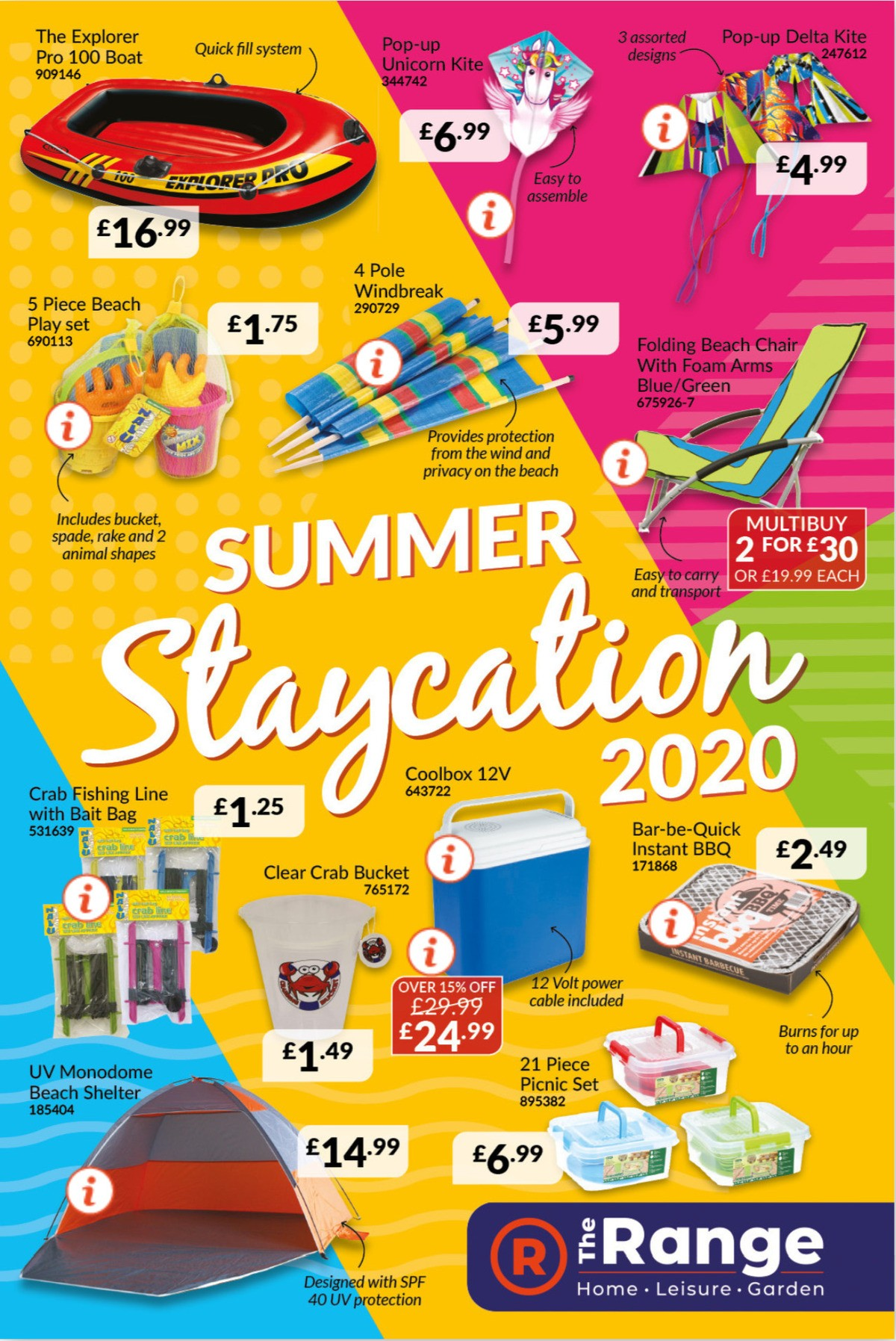The Range Summer Staycation Offers from July 3