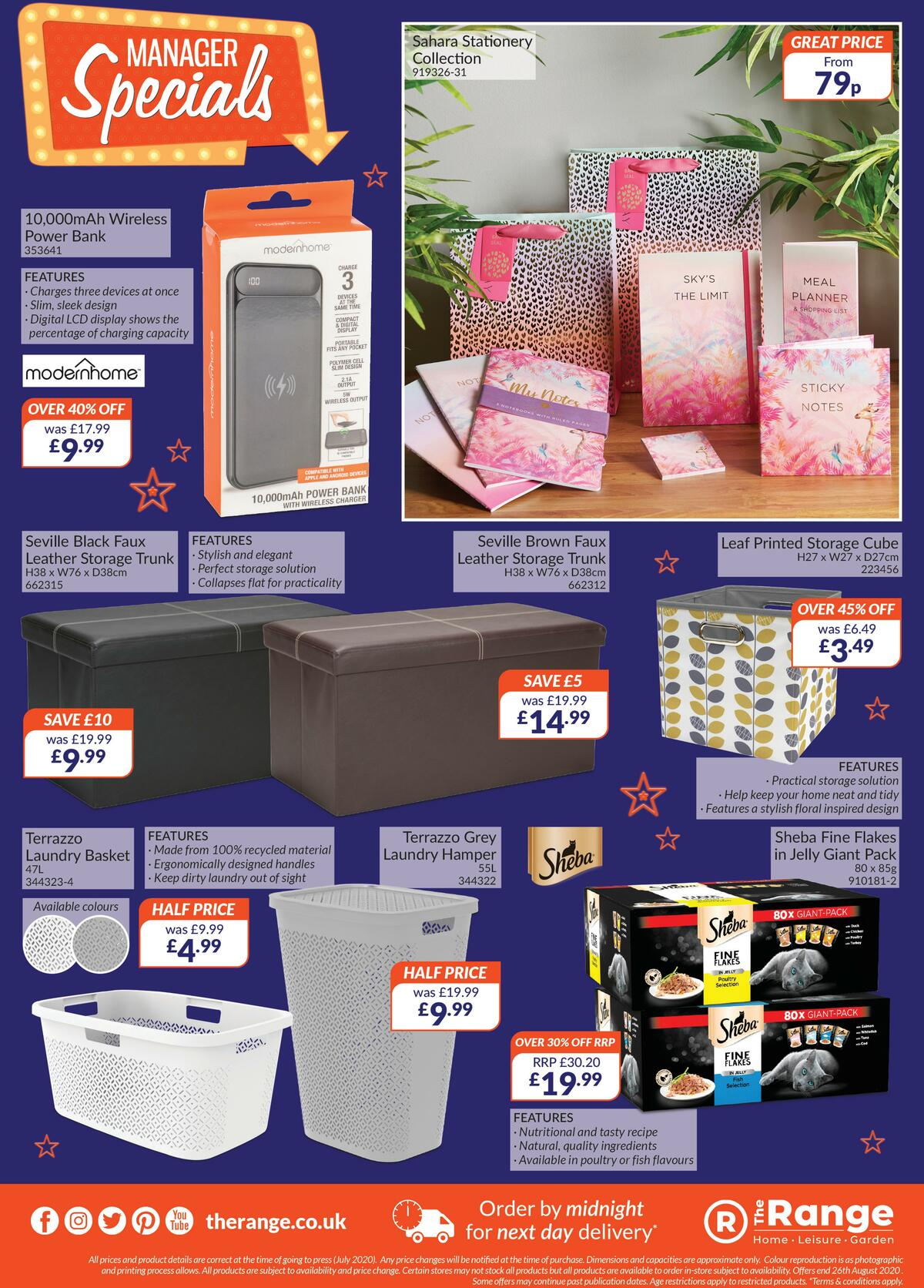 The Range Offers from July 23