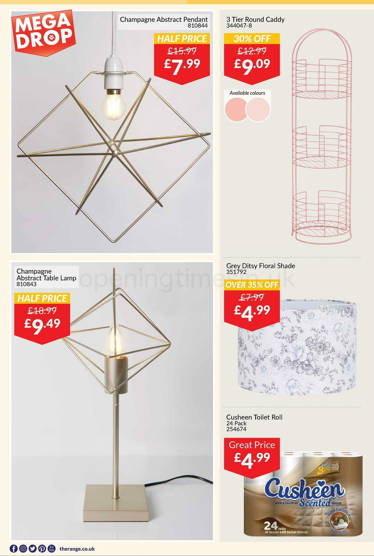 The Range Offers from January 28