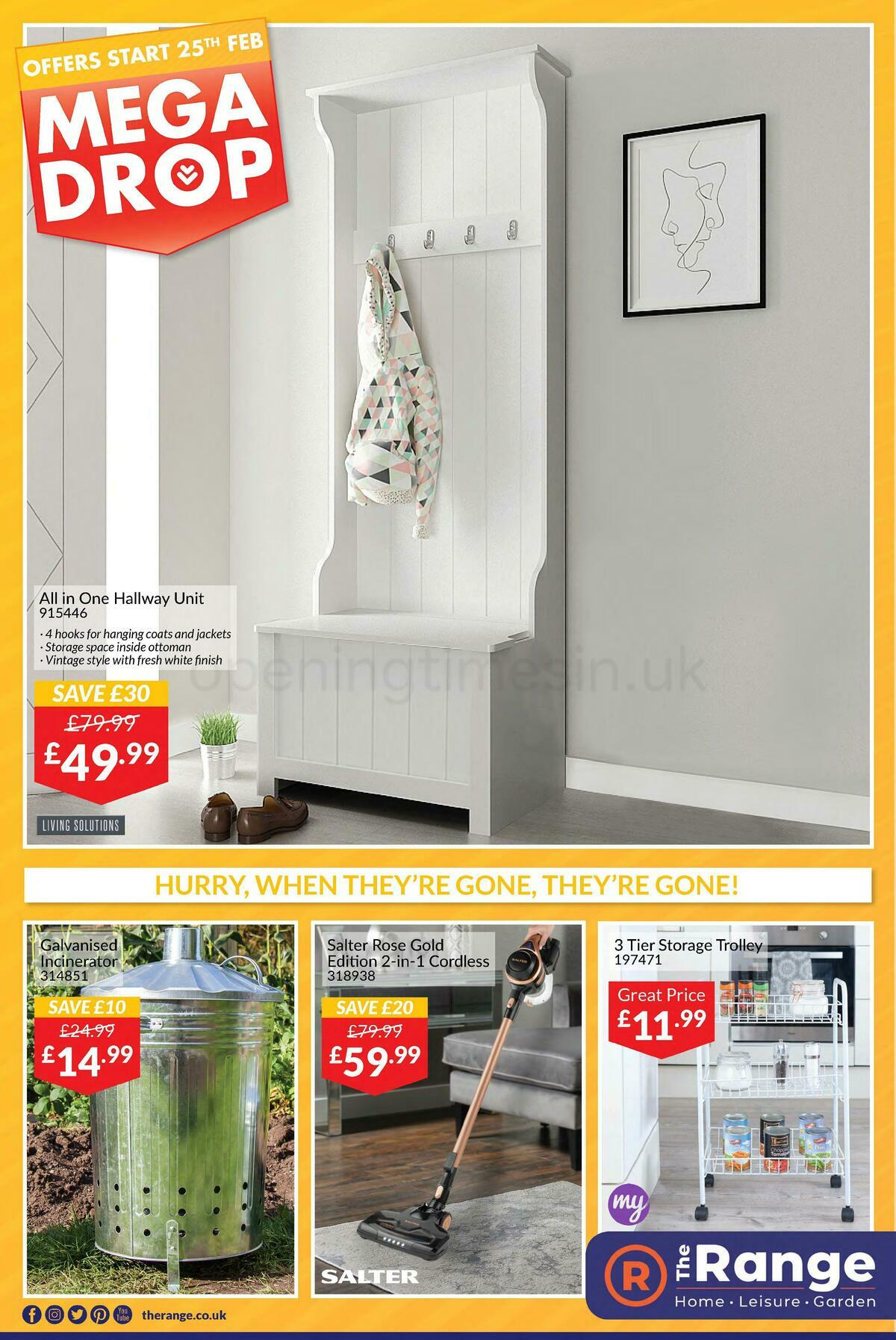 The Range Offers from February 25