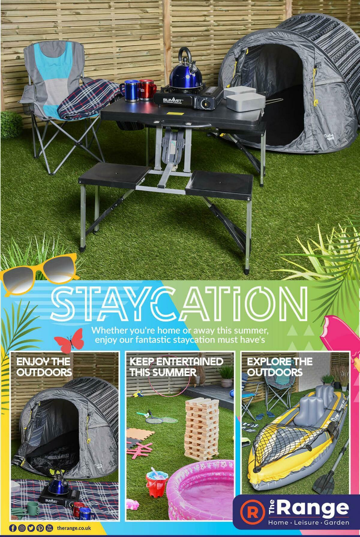 The Range Staycation Offers from April 30