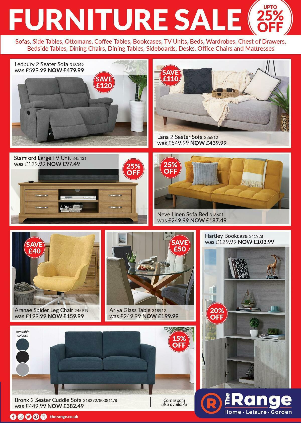 The Range Offers from July 1