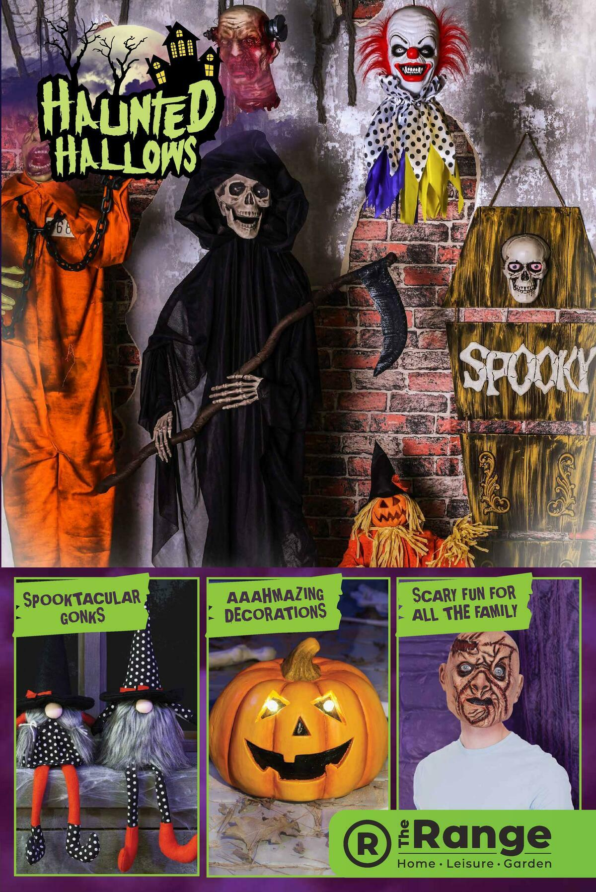The Range Halloween Offers from August 20