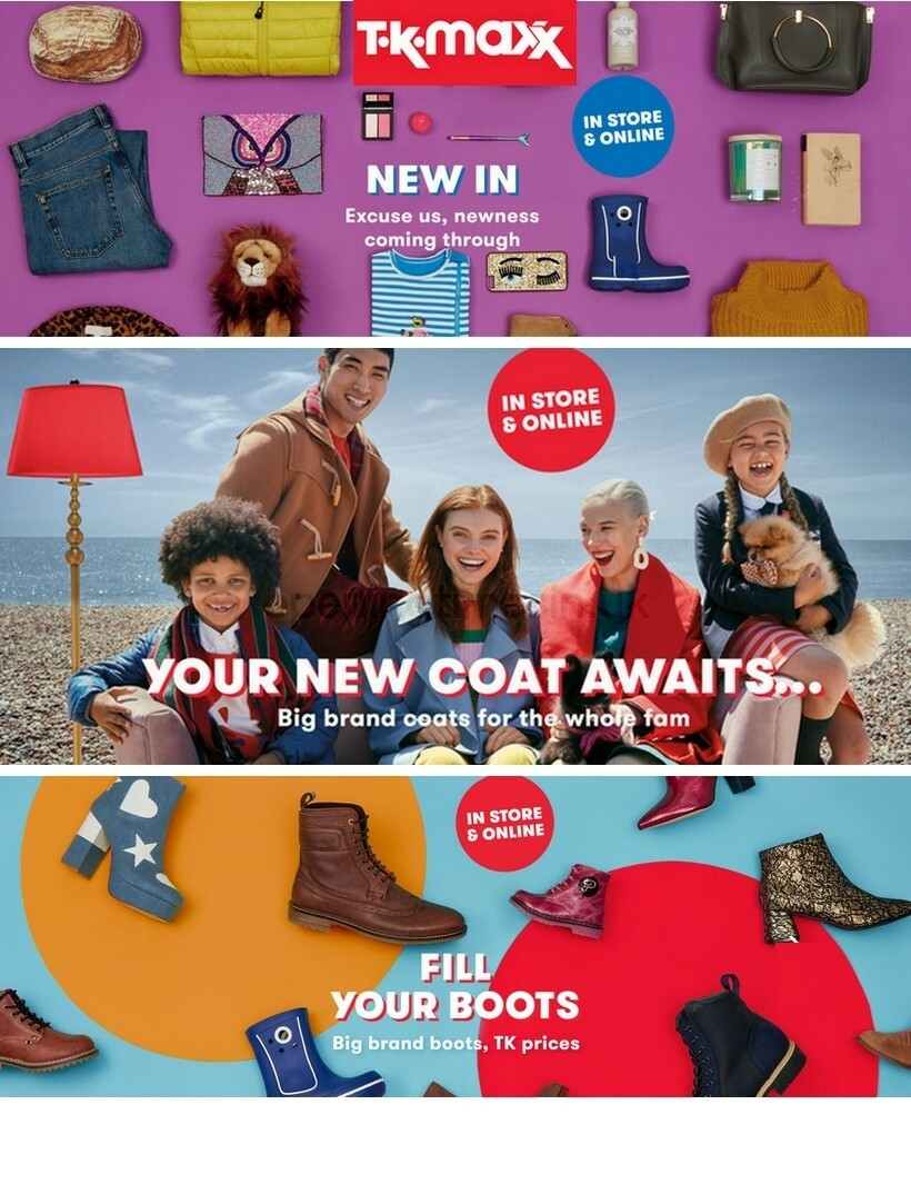 TK Maxx Offers from October 8