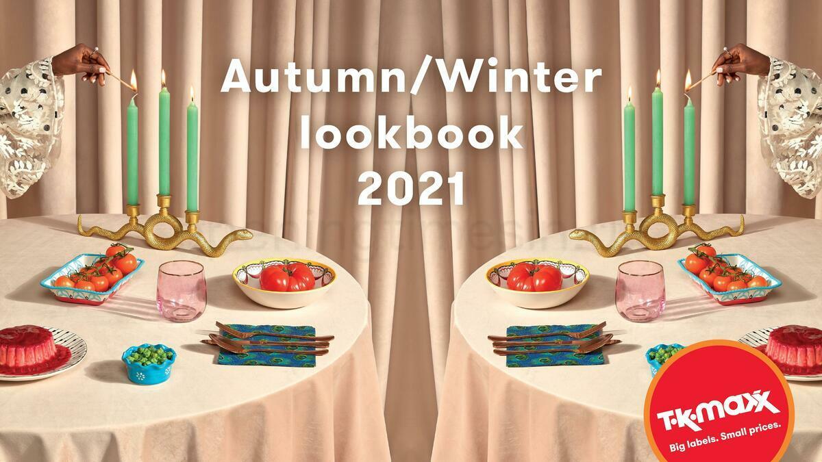 TK Maxx Autumn/Winter Lookbook Offers from September 15