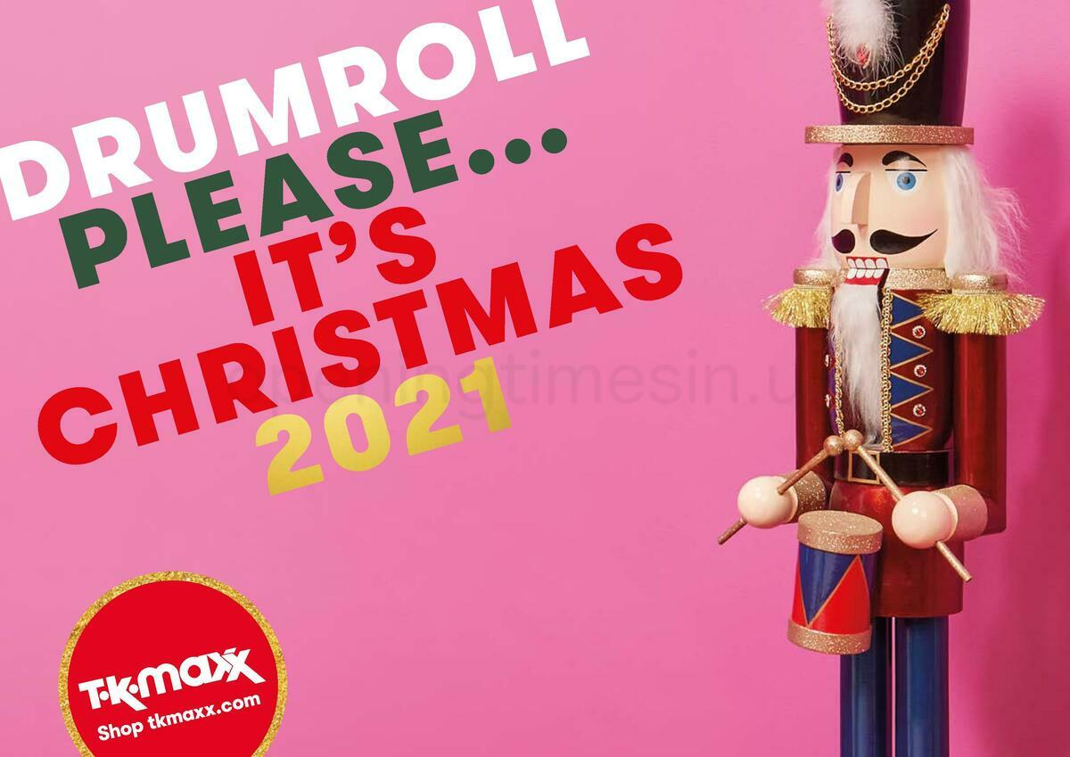 TK Maxx Christmas Offers from October 6