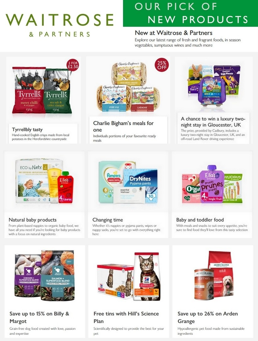 Waitrose Offers from March 22