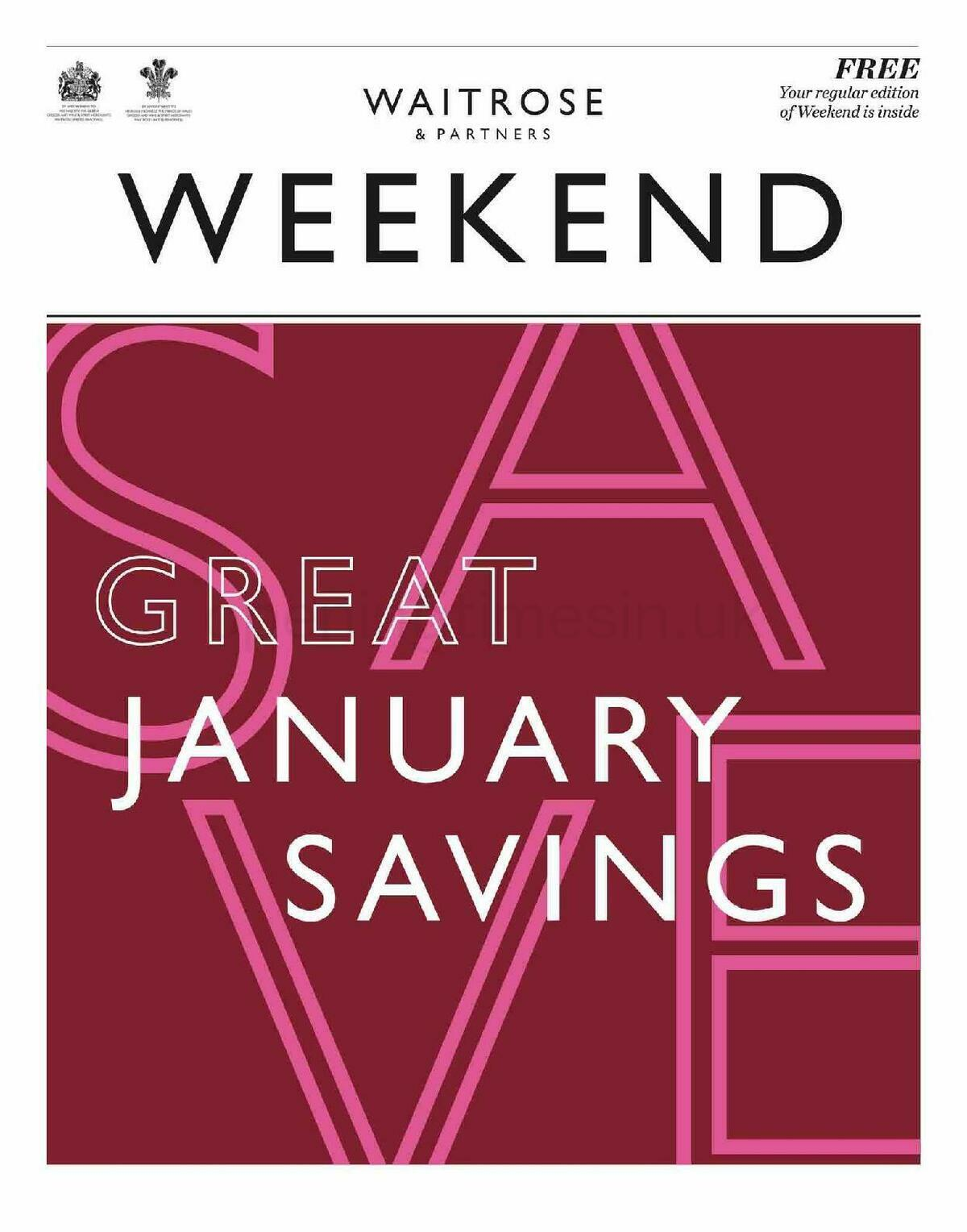 Waitrose Offers from January 7
