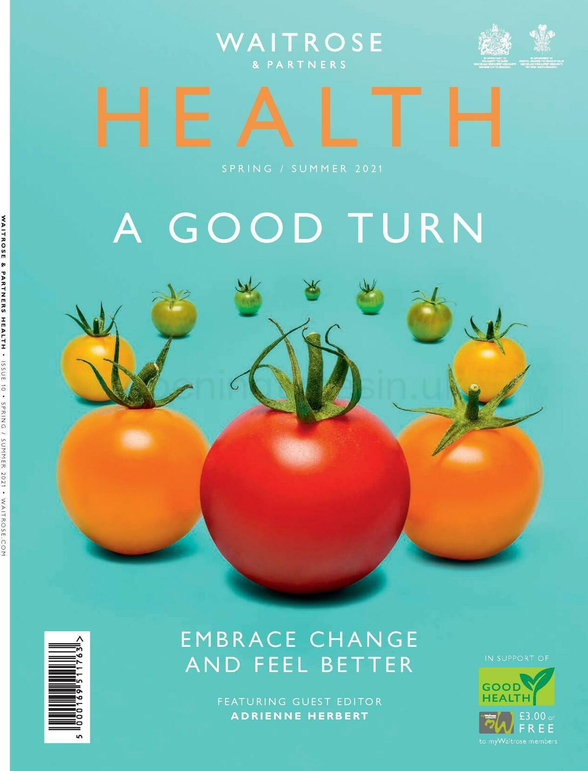 Waitrose Health Spring / Summer Offers from April 20