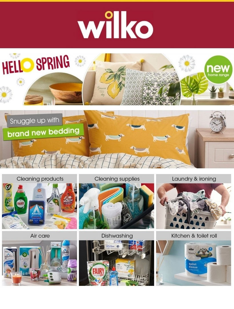 Wilko Offers from March 26