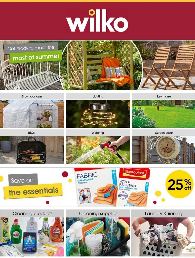 Wilko Offers from May 6