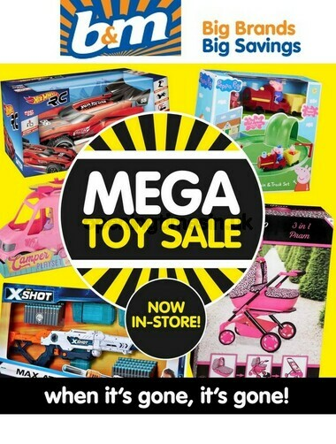 B&M Mega Toy Sale