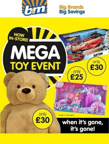 B&M Mega Toy Event