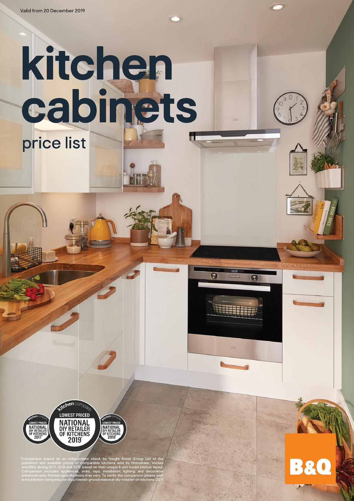 B&Q Kitchen Cabinets price list Offers & Special Buys for ...