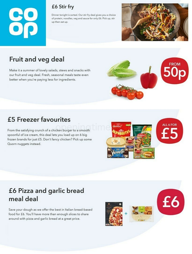 Co-op Food Offers & Special Buys